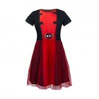 I Am Deadpool Fit 'n' Flare Tulle Dress