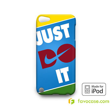 JUST DO IT 2 Nike Every Damn  iPod Touch 4, 5 Case Cover
