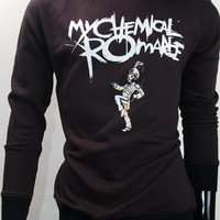 My Chemical Romance MCR Gerard Way Alternative Rock Black Hoodie Tee S,M,L
