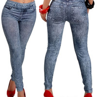 WOMEN LEGGINGS JEANS JEGGINGS LADIES PANTS = 1930042948