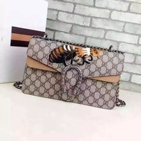 Gucci Dionysus GG Supreme Shoulder Bag 400249201