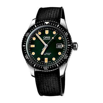 Oris Divers Sixty-Five Green Dial Men's Watch 40mm