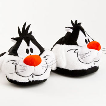 Sylvester the Cat Looney Tunes Slippers | Character & Cartoon Slippers | BunnySlippers.com