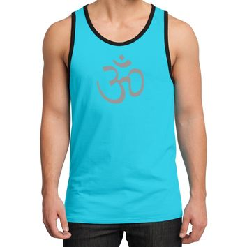 Yoga Clothing for You Mens Aum Symbol Cotton Tank Top