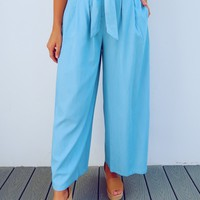 Better Together Pants: Chambray