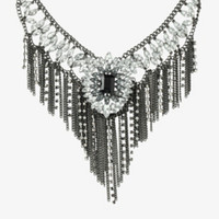 Fringe Statement Necklace