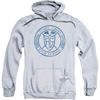 Power Rangers Men's  Angel Grove Hs Hooded Sweatshirt Athletic Heather