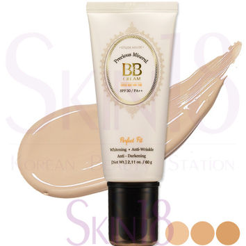 Etude House Precious Mineral BB Cream Perfect Fit #N02 (Light Beige)