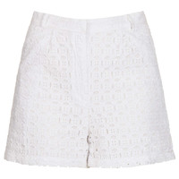 White Broderie Shorts - New In This Week  - New In