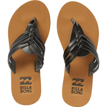 Billabong Women's Panama Sandals | Off Black