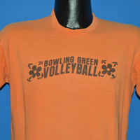 60s Bowling Green university Volleyball t-shirt Medium