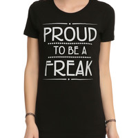 American Horror Story: Freak Show Proud To Be A Freak Girls T-Shirt
