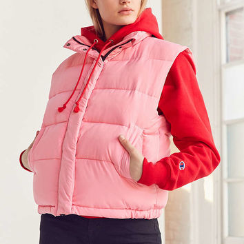 Light Before Dark Sleeveless Puffer Jacket - Urban Outfitters