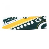 Green Bay Packers Packers Women's Stretch Patterned Headband - Accessories - Women's
