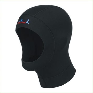 DC01H 1mm or 3mm neoprene diving hat professional uniex swimming cap winter cold-proof wetsuits head cover diving helmet