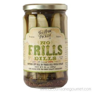 Yee-Haw Pickles - No Frills Dills 2.278 Pounds