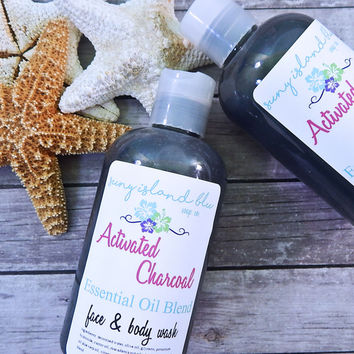 CHARCOAL Face & Body Wash