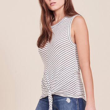 Women's BB Dakota Tie-Front Knit Rosanna Tank