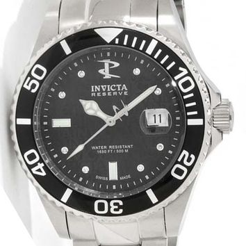 Invicta 6882 Men's Swiss Reserve 500 Meter WR Stainless Steel Automatic Dive Watch