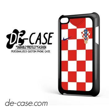 Croatia Soccer Jersey For Ipod 4 Ipod Touch 4 Case Phone Case Gift Present YO