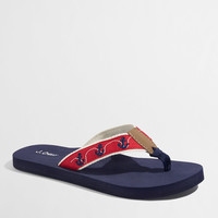 Factory critter flip-flops : Seasonal | J.Crew Factory