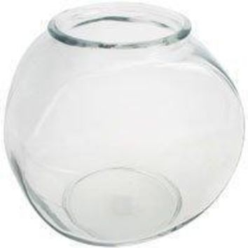 1 Gallon Glass Drum Style Fish Bowl - 12 Ct 101352