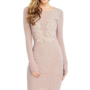 Rose Quartz Mesh Dress