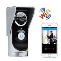Wi-Fi Video Ring Intercom And Door Bell-CMOS, APP Support, Motion Detection, Night Vision