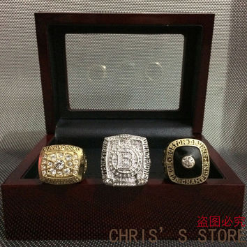 3pcs/set 1970 1972 2011 Boston Bruins Stanley Cup Replica Championship Rings Sets BC2902