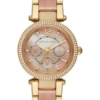 MICHAEL Michael Kors 'Parker - Mini' Multifunction Watch, 33mm | Nordstrom