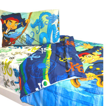 Disney Neverland Pirates Twin Bedding Set Captain Jake Bed