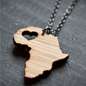 Handmade Bamboo Country Necklaces - Made in the USA