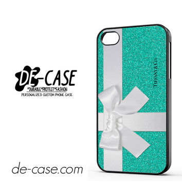 Tiffany & Co Sparkle Glitter DEAL-11228 Apple Phonecase Cover For Iphone 4 / Iphone 4S