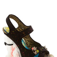Irregular Choice Statement Chase Your Dreams Heel