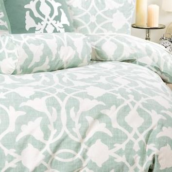 Barbara Barry Poetical Duvet Cover - King, Cotton Percale
