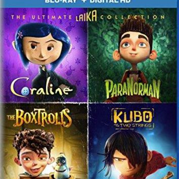 Charlize Theron & Ben Kingsley & Travis Knight & Anthony Stacchi-The Ultimate Laika Collection Coraline / ParaNorman / The Boxtrolls / Kubo and the Two Strings