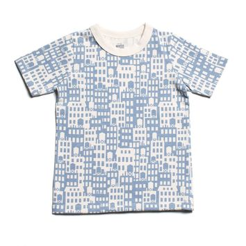 Metro Buildings Organic Toddler Tee - 2T