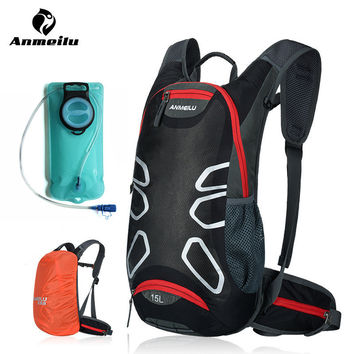 ANMEILU Bicycle Bags Waterproof MTB Road Mountain Bike Water Bags Pannier Climbing Cycling Basket Backpacks Bicycle Accessories
