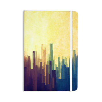 "Cvetelina Todorova ""Cloud City"" Yellow Purple Everything Notebook"