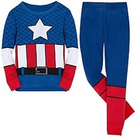 Captain America Deluxe PJ Pal for Boys | Disney Store
