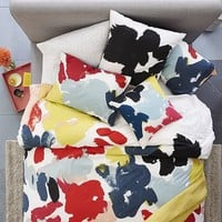 Kate Spade Saturday Floral Duvet Cover + Shams - Habanero