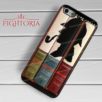 Classic Sherlock Holmes Books -end for iPhone 6S case, iPhone 5s case, iPhone 6 case, iPhone 4S, Samsung S6 Edge