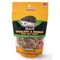 SunSeed Wigglers Berries Trail Mix Hedgehog