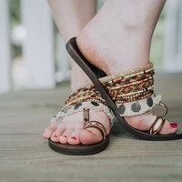 WHISKEY DUO SANDAL