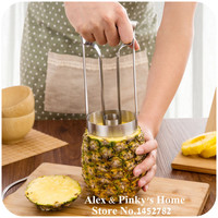 New Style Stainless Steel Fruit Pineapple Slicer Peeler Cutter Kitchen Tool Pineapple Peeler