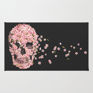 A Beautiful Death  Rug by Terry Fan