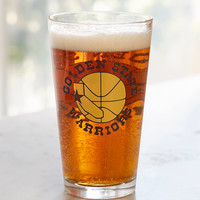 NBA Vintage Logo Pint Glass | Urban Outfitters