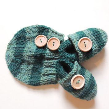 Wool Hat Moccs set, organic baby clothes, organic knit hat, wool baby moccs, newborn knit hat, wool baby hat, baby moccasins, knit baby hat