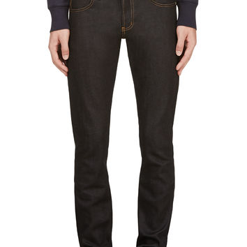 Naked And Famous Denim Deep Indigo Stretch Selvedge Super Skinny Guy Jeans