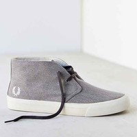 Fred Perry Vernon Canvas Sneaker - Light Grey
